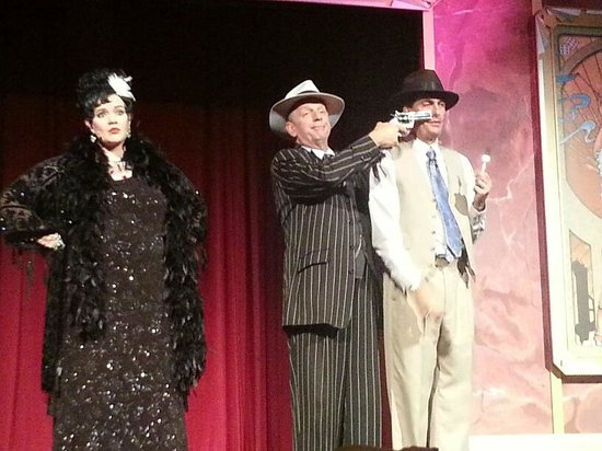 Capone's Dinner and Show: Capone's Dinner Show 11/20/13