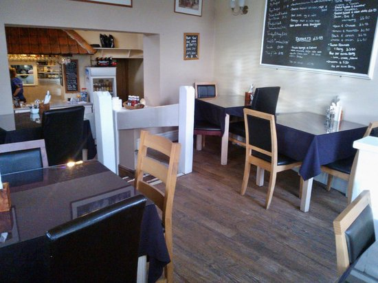 Godfrey's Cafe Bistro in Duffield: Inside Godfrey's