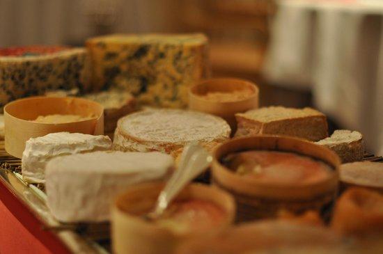 Relais & Chateaux - Hostellerie de Levernois: fromages