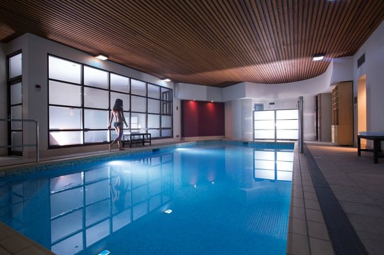 The Club Hotel & Spa: The Club Spa indoor salt water pool