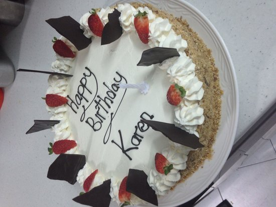 Kristian's Restaurant: A birthday cake for that someone special