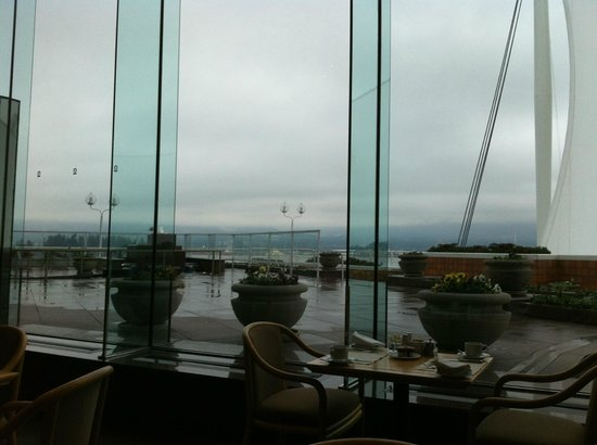 Pan Pacific Vancouver: View at Breakfast