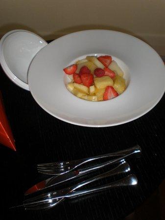 Finca Prats Hotel Golf & Spa: plato de fruta