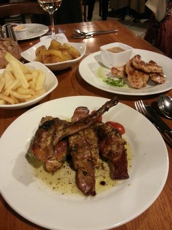 Gozitan: Fantastic Food and plenty off it.