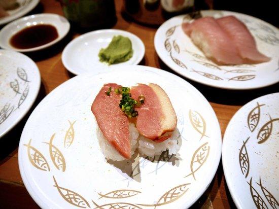 Himawari Zushi Shintoshin: Smoked duck sushi