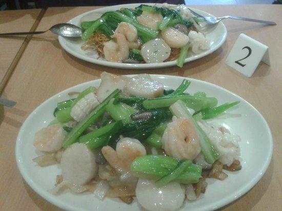 Red Horse Tea Bar: Seafood Ho Fun