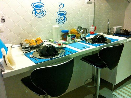 Bed and Breakfast La Palanzana: Colazione