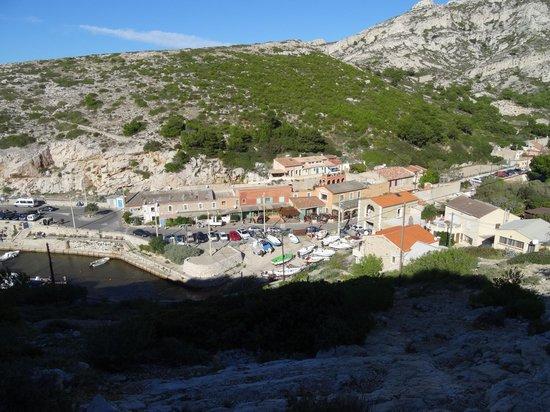 La Grotte : vue générale