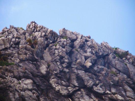 Tonaki-jima Island: 島の南側にあるシュンザ