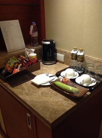 The Grand Fourwings Convention Hotel: Mini Bar