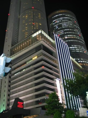 Nagoya Marriott Associa Hotel : nagoya marriott at night