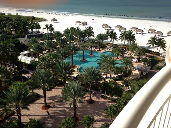 JW Marriott Marco Island Beach Resort: View from room
