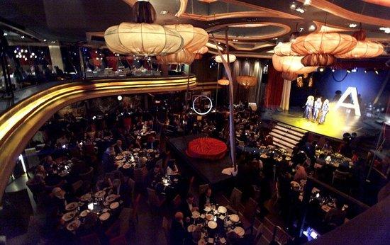 Best cabaret in town circus cabaret picture of astoria for Astoria barcelona