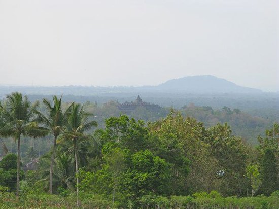 Amanjiwo Resorts: Borobudur from suite