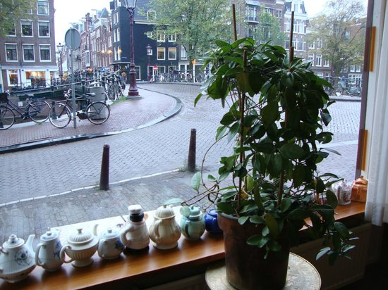 Amsterdam Wiechmann Hotel : Grande vetrata