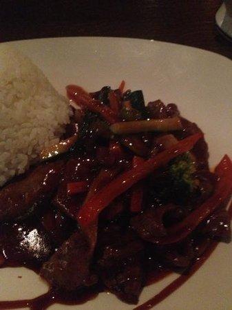 Urban Kitchen: rindfleisch mongolisch - ertränkt in hoi-sin