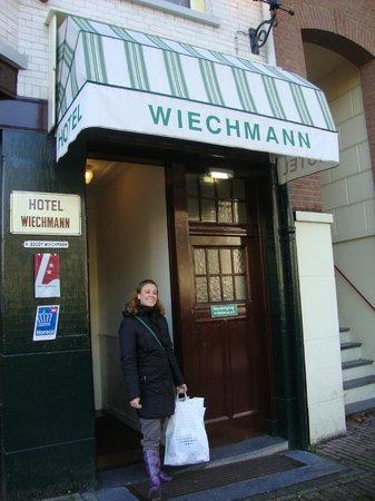 Amsterdam Wiechmann Hotel: L'ingresso