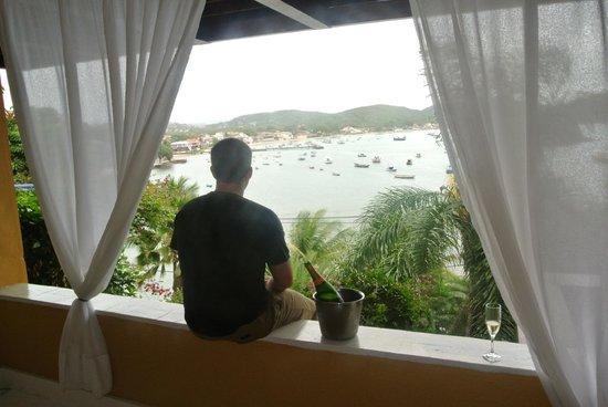 Vila d'este : view from our room 15