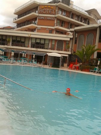 Hotel Terme Capasso: Piscina Calda