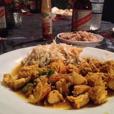 Shark's: Curry Lobster