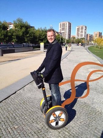 Madsegs Madrid Segway Tours: roling