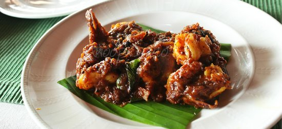 The Paul Bangalore : Nadan Prawns Ularthiaythu
