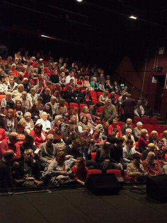 Congress Theatre: The seating in the auditorium