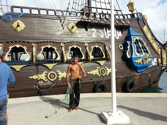 Iberostar Averroes: pirate ship