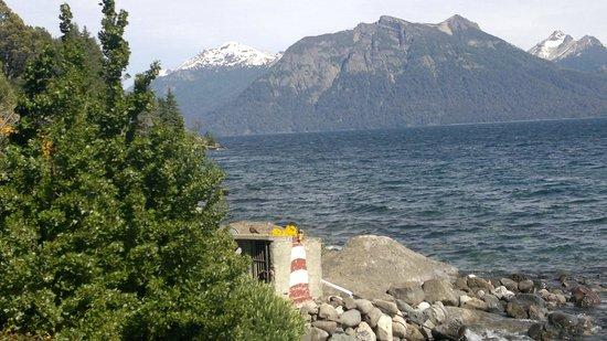 Apart Hotel Cabanas Balcon al Lago: Vista panorámica