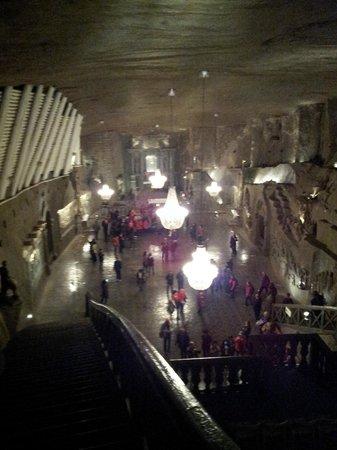 Cracow Saltworks Museum - Salt Mine Location: Galeria principal