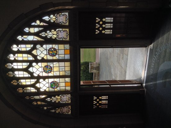 Georgetown University : Beautiful architecture and stained glass