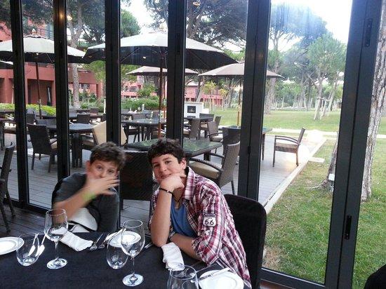 Sheraton Cascais Resort : El restaurante!