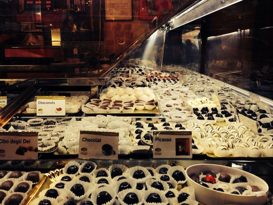 Cioccolateria Gelateria Augusta Perusia: le varietà di cioccolata