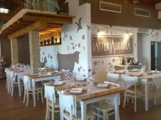 L'Agricola : sala da pranzo