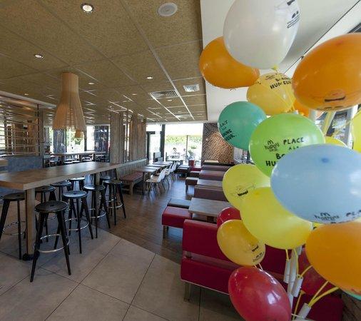 McDonald's Tournus salle
