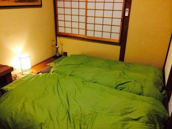 Zen Oyado Nishitei: Cozy bedding