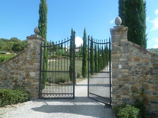 La Petraia: Entry