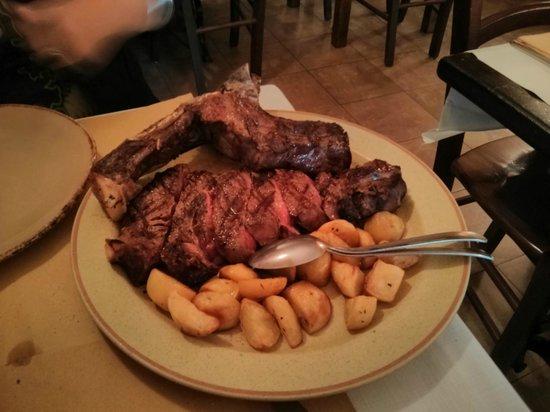 Ristorante Accademia: Bisteca a la fiorentina