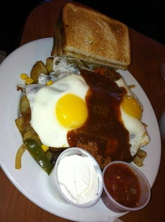 Berry Fresh Cafe: Dynamite breakfast hash!