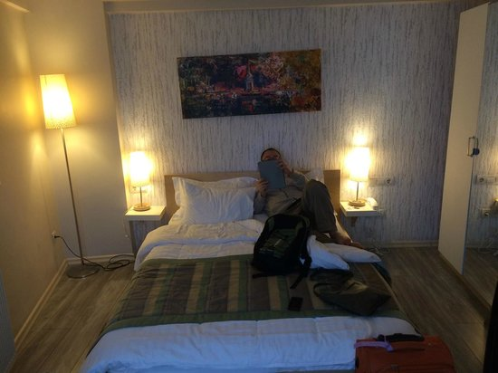 Elanaz Hotel Istanbul: Our room interior
