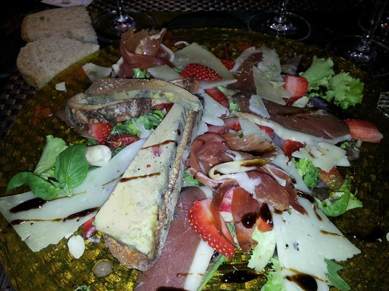 Le Port de Venus: Assiette gourmande (foie gras)