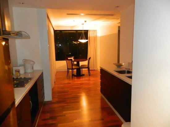 The Duchess Hotel and Residences: kitchen