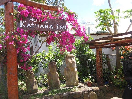 Kaimana Inn Hotel & Restaurant : Kaimana Inn Entrance Way