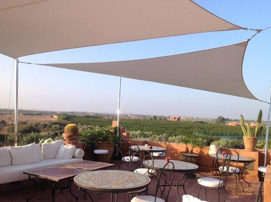 Riad Al Mendili Kasbah: Terrasse panoramique