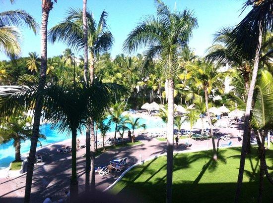 Hotel Riu Naiboa : Vue de ma chambre