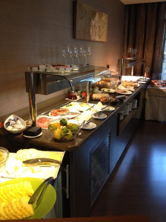 Wilson Boutique Hotel: Great buffet