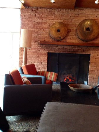 Enchantment Resort : The spa common area