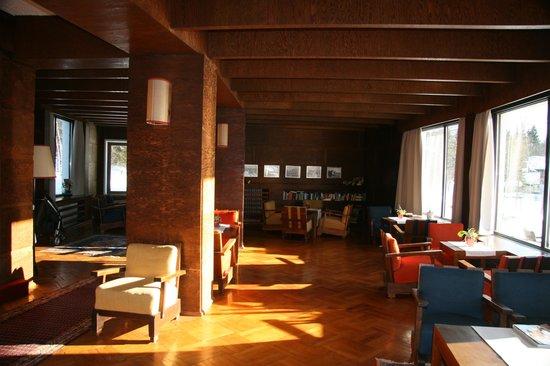 Hotel Berghof: De lobby in Bauhaus stijl