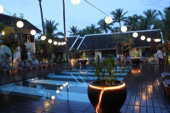Villa Maly Boutique Hotel: Lovely Pool Area