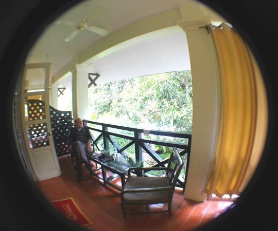 Villa Maly Boutique Hotel: Balcony